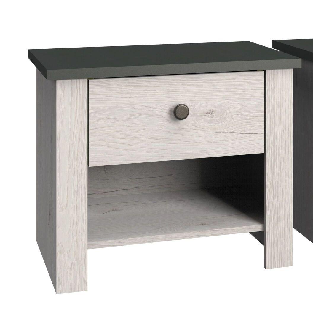 Nachttisch Grom mit Schublade und Ablagefläche