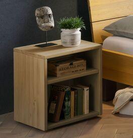 Nachttisch Hamar mit schlichtem Design aus Massivholz