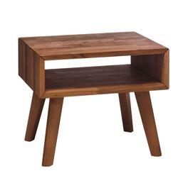 Nachttisch Jacalto aus edlem Nussbaumholz