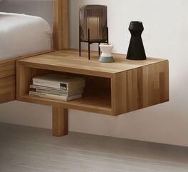 Nachttisch Kian mit praktischem Ablagefach