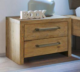 Nachttisch Limeira in geradlinigem Design
