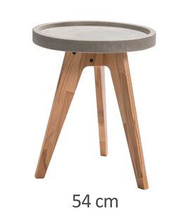 Nachttisch Magura in 54cm für Boxspringbetten