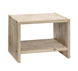 Nachttisch Onno mit starker Holzmaserung