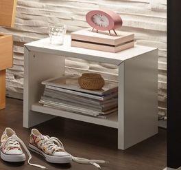 Preiswerter Nachttisch Parla mit Ablageplatte