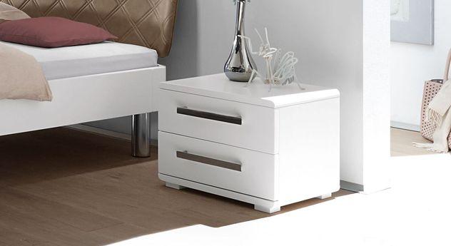 Nachttisch Perama inklusive leichtgängiger Schubladen mit Selbsteinzug