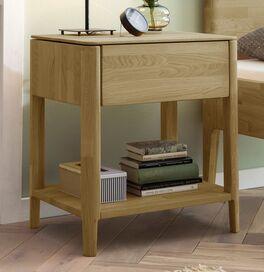 Nachttisch Stanis in Komfort-Höhe