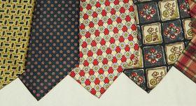 Naturfaser Seide Krawatten
