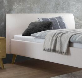Modernes Polsterbett Nelka mit robustem Bezug