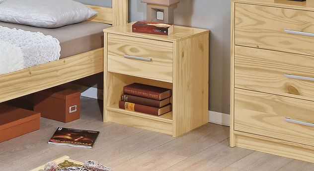 Preiswerter Nachttisch Bregenz aus Holz