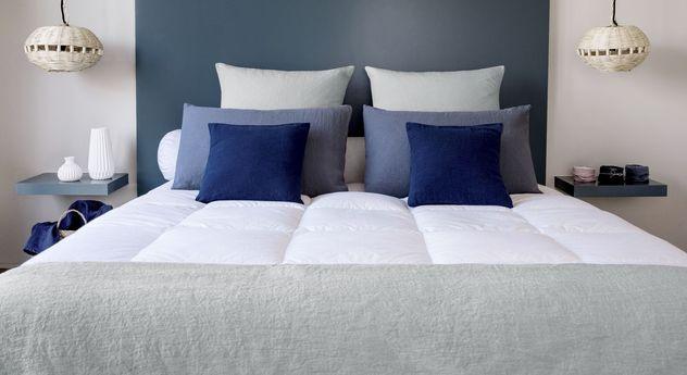 Daunen-Topper als hochwertige Schlafauflage von Pyrenex