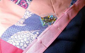 Quilt-Herstellung