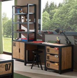 Regal und Schreibtisch Beli als ideale Kombination