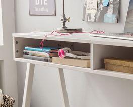 Retro-Schreibtisch Kids Paradise höhenverstellbar in hochwertiger Verarbeitung