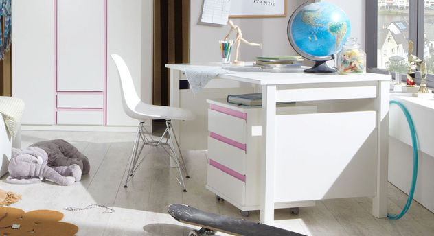 Rollcontainer Armilla mit passendem Schreibtisch