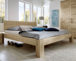 Rustikales Bett Nino im Western-Style