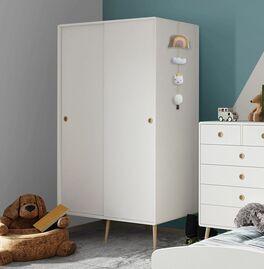 Schiebetüren-Kleiderschrank Zuria für Jugendzimmer