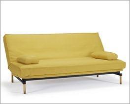 Modernes Schlafsofa Frentano in einer knalligen Farbe