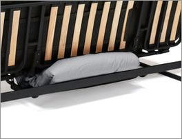 Schlafsofa Frentano mit praktischem Stauraum unter der Sitzfläche