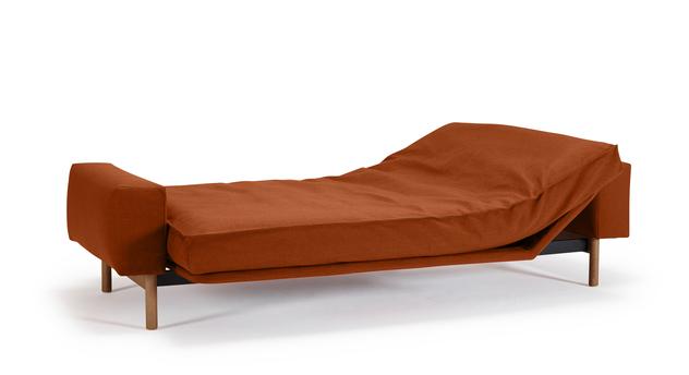 Schlafsofa Nereto als verstelltes Doppelbett