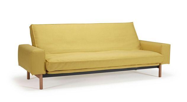 sofa dauerschl fer mit armlehnen und z b latex matratze nereto. Black Bedroom Furniture Sets. Home Design Ideas