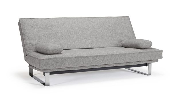 Modernes Schlafsofa Perano aus granitfarbenem Twist