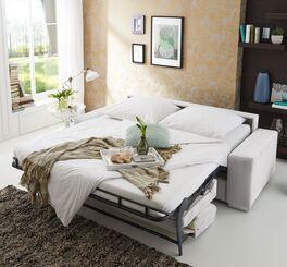Zweisitzer-Schlafsofa Telmo als Gästebett