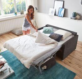 Schlafsofa Tullia mit vollwertiger Matratze