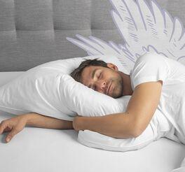 SCHLAFSTIL Daunen-Kissen D400 für Hausstaub-Allergiker geeignet