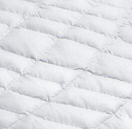 SCHLAFSTIL Eiderdaunen-Bettdecke D1000 medium in sorgfältiger Verarbeitung