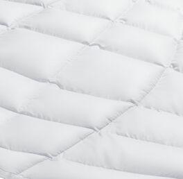 SCHLAFSTIL Eiderdaunen-Bettdecke D1000 warm mit geringem Gewicht