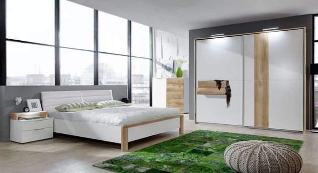 Preiswertes Schlafzimmer Bellegra in modernem Design