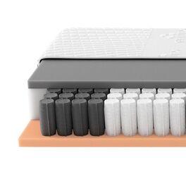 SCHLARAFFIA Taschenfederkern-Matratze GELTEX Solaris ZT TFK für optimale Anpassung