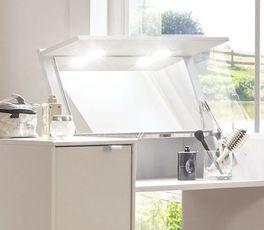 Schminktisch Dolavon mit praktischer Spiegel-Beleuchtung