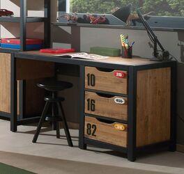 Schreibtisch Beli mit kindgerechten Applikationen