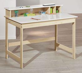 Schreibtisch Erin aus Massivholz und MDF