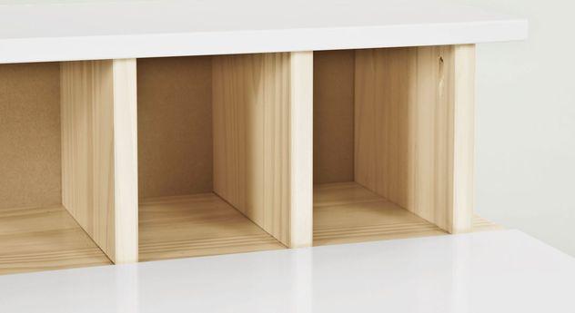 Schreibtisch Erin mit praktischem Ordnungssystem