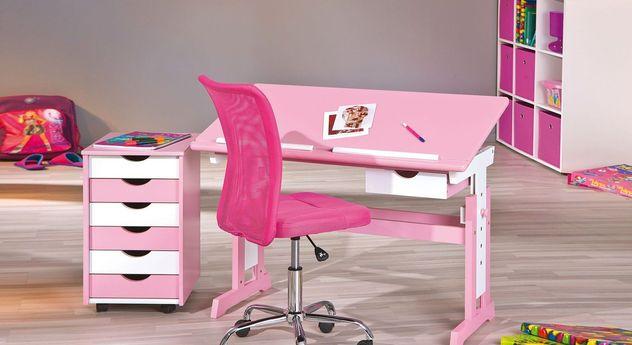 Schreibtisch Jana in Rosa mit passenden Produkten