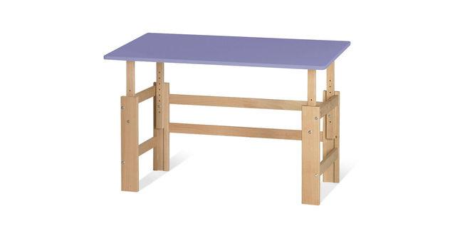 Schreibtisch Kids Town höhenverstellbar in Lila