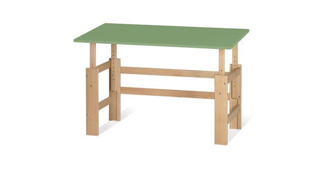 Schreibtisch Kids Town höhenverstellbar in Olivgrün