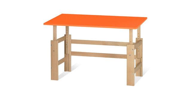 Schreibtisch Kids Town höhenverstellbar in Orange