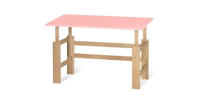 Schreibtisch Kids Town höhenverstellbar in Rosa
