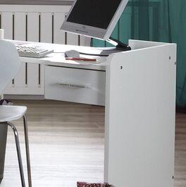 Schreibtisch Lajana höhenverstellbar mit leichtgängigen Metallauszügen