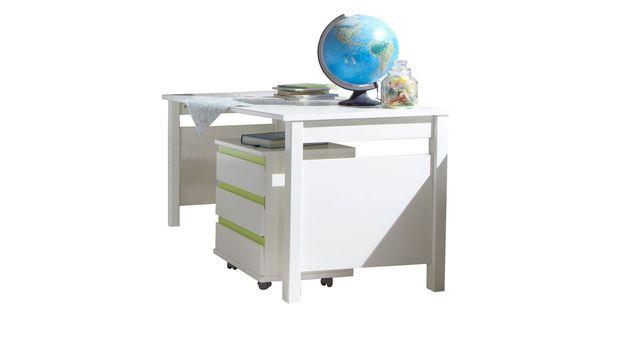 Neutraler Schreibtisch Los Pinos für Kinder- und Jugendzimmer
