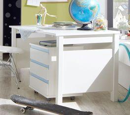 Moderner Schreibtisch Los Pinos in Weiß