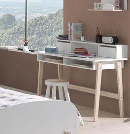 Schreibtisch Maila mit praktischen Fächern