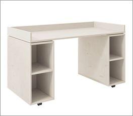 Massivholz LIFETIME Schreibtisch Original rollbar für Kinderzimmer