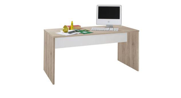 Moderner Schreibtisch Tropea in Eiche Dekor