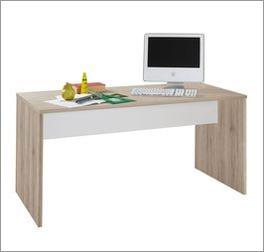 Schreibtisch Tropea inklusive alpinweißem Querholm