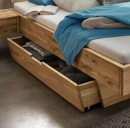 Schubkasten-Bett Adrien mit integriertem Schubfach