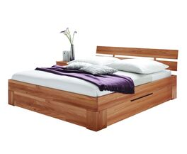 Schubkasten-Bett Halvar in geradlinigem Design